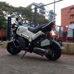 Honda Navi Goa Hunt Chrome rear three quarter