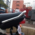 Honda Navi Goa Hunt Chrome tail section