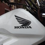 Honda Navi Goa Hunt badging