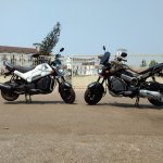 Honda Navi Goa hunt Adventure and Chrome profile