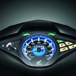 Honda Wavi 125i Malaysia launch studio instrumentation
