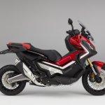 Honda X-ADV Victory Red side studio