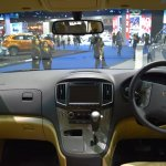 Hyundai H-1 Deluxe dashboard at 2017 Bangkok International Motor Show