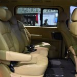 Hyundai H-1 Deluxe rear seats at 2017 Bangkok International Motor Show