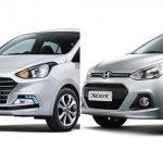 Hyundai Xcent 2017 vs Hyundai Xcent 2014