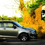 India's wildest Maruti Swift side image
