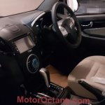 Isuzu MU-X interior spotted in India undisguised