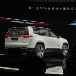 Jeep Yuntu concept rear three quarters at Auto Shanghai 2017