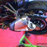 Kawasaki Z1000 India launch exhaust