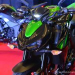 Kawasaki Z1000 India launch front nose