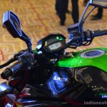 Kawasaki Z1000 India launch handle bar