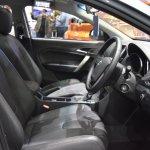 MG5 sedan front seats at 2017 Bangkok International Motor Show