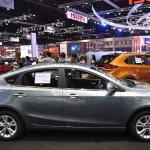 MG5 sedan profile at 2017 Bangkok International Motor Show