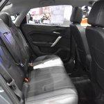MG5 sedan rear seats at 2017 Bangkok International Motor Show