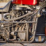 Maruti 800 Trailblazer custom motorcycle engine
