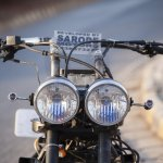 Maruti 800 Trailblazer custom motorcycle headlamp