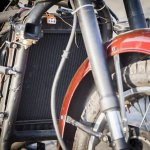 Maruti 800 Trailblazer custom motorcycle radiator