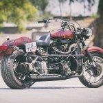 Maruti 800 Trailblazer custom motorcycle rear three quarter