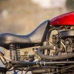 Maruti 800 Trailblazer custom motorcycle seat