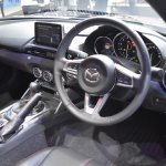Mazda MX-5 RF dashboard at 2017 Bangkok International Motor Show