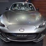 Mazda MX-5 RF front elevated view at 2017 Bangkok International Motor Show