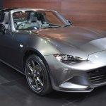Mazda MX-5 RF front three quarters at 2017 Bangkok International Motor Show
