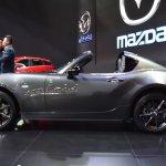 Mazda MX-5 RF left side at 2017 Bangkok International Motor Show