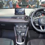 Mazda2 hatchback dashboard at 2017 Bangkok International Motor Show