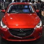 Mazda2 hatchback front at 2017 Bangkok International Motor Show