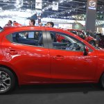 Mazda2 hatchback profile at 2017 Bangkok International Motor Show