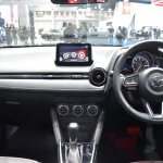 Mazda2 sedan dashboard at 2017 Bangkok International Motor Show