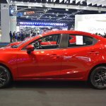 Mazda2 sedan profile at 2017 Bangkok International Motor Show