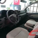 Nissan Urvan Premium Philippines launch dashboard