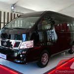 Nissan Urvan Premium Philippines launch front three quarter left