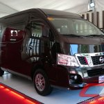 Nissan Urvan Premium Philippines launch front three quarter right