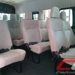 Nissan Urvan Premium Philippines launch seats