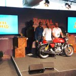 Royal Enfield Brazil launch Continental GT side showcase