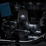 Royal Enfield Bullet 350 Standard Graduate by Eimor Customs engine