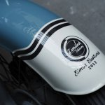 Royal Enfield Bullet 350 Standard Graduate by Eimor Customs front fender