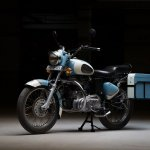 Royal Enfield Bullet 350 Standard Graduate by Eimor Customs front three quarter left