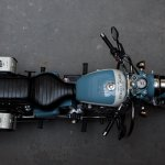 Royal Enfield Bullet 350 Standard Graduate by Eimor Customs top view