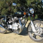 Royal Enfield Carberry Motorcycle older build