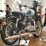 Royal Enfield Classic 350 Redditch Redditch Blue at IIMS 2017