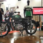 Royal Enfield Classic 350 Redditch Redditch Green at IIMS 2017