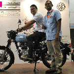 Royal Enfield Classic 350 Redditch at IIMS 2017