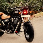 Royal Enfield Thunderbird 350 Bobber Boa by Puranam Designs front three quarter right