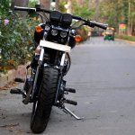 Royal Enfield Thunderbird 350 Bobber Boa by Puranam Designs front