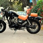 Royal Enfield Thunderbird 350 Bobber Boa by Puranam Designs side left