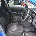 Suzuki Celerio at 2017 Bangkok International Motor Show front seats