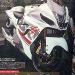 Suzuki Hayabusa spyshot next gen